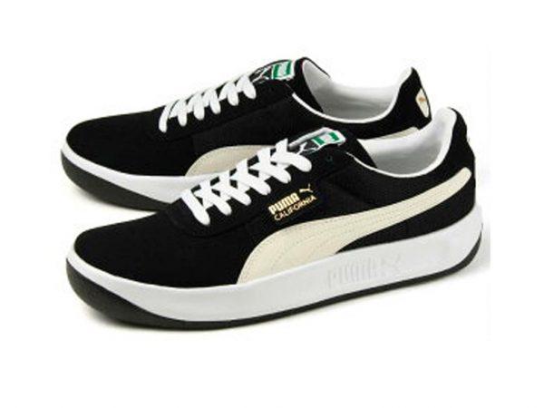Zapatillas California-Negro-Hombre-Clasicas-Retro 80s 90s