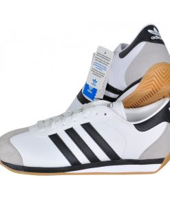 Tenis-Zapatillas-Country-Clasicas-Retro-Hombre-Blanco-Negro 80s 90s 2020