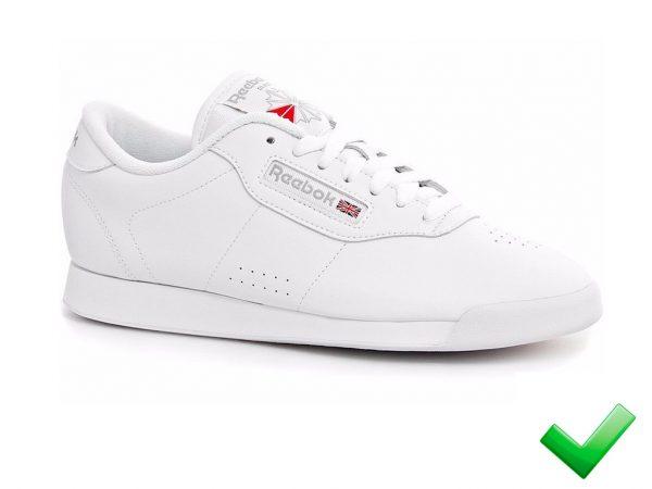Tenis-Zapatillas-Rbk Princesa-Blanco-Mujer Hombre 2020