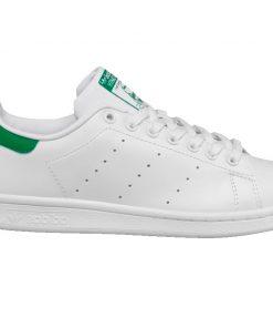 Tenis-Zapatillas-Stan-Smith-Mujer-Blanco-Verde Hombre