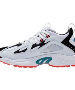 Tenis-Zapatillas-Rbk -DMX-1200-Moda-2019-Blanco-Naranja-Hombre-Running Colores