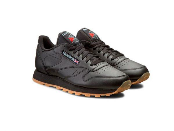 Zapatillas-Rbk Classics-Mujer-Negro-suela-marrón Hombre 80s 90s- 2020