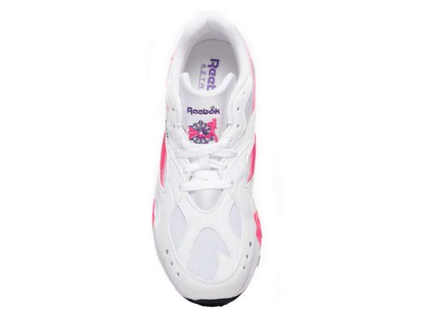 Tenis-Zapatillas-Rbk-Aztrek-Mujer-Dama-Blanco-Rosa-2020