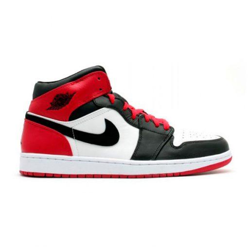 Tenis-Zapatillas-Air-Jordan-Retro-1-Rojo-Blanco-Negro-Unisex