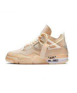 Tenis-Zapatillas-Air-Jordan-Retro-4-Mujer-Beige-Contraentrega-envio-gratis