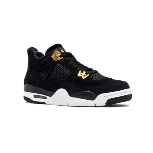 Tenis-Zapatillas-Air-Jordan-Retro-4-Mujer-Negro-Dorado-Contraentrega-envio-gratis